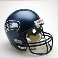 Seattle Seahawks 2002-2011 Throwback Riddell Deluxe Replica Helmet