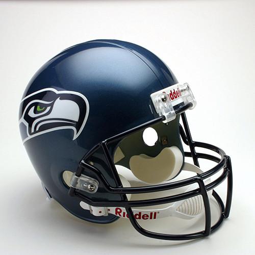 Seattle Seahawks 2002-2011 Throwback Riddell Deluxe Replica Helmet