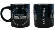 Seattle Seahawks Coffee Mug - 14oz Sculpted Warm Up