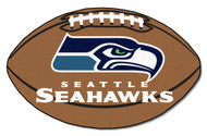 "Seattle Seahawks 22""x35"" Football Mat"