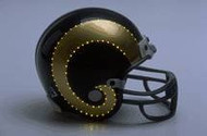 St. Louis Rams Fiber Optic Mini Helmet