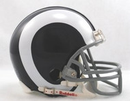 St. Louis Rams 1965-72 Throwback Replica Mini Helmet w/ Z2B Face Mask