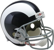 St. Louis Rams 1965-72 Throwback Riddell Deluxe Replica Helmet