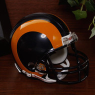 St. Louis Rams 1981-99 Throwback Replica Mini Helmet