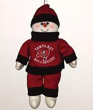 """Tampa Bay Buccaneers 10"""" Snowflake Friends"""