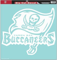 """Tampa Bay Buccaneers 18""""x18"""" Die Cut Decal"""