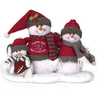 Tampa Bay Buccaneers Table Top Snow Family