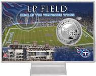 Tenessee Titans Silver Coin Card - Stadium