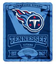 Tennessee Titans 50x60 Fleece Blanket - Marque Design