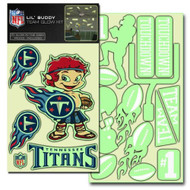 Tennessee Titans Lil' Buddy Glow In The Dark Decal Kit