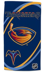 Atlanta Thrashers Beach Towel