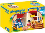 PLAYMOBIL 1.2.3 Take Along Barn