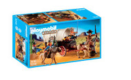 PLAYMOBIL Covered Wagon with Raiders