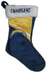 NFL Swoop Logo Stocking NFL Team: San Diego Chargers