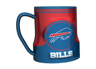 Buffalo Bills 20 Ounce Game Time Sculpted Logo Relief Coffee Mug