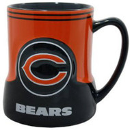 Chicago Bears 20 Ounce Game Time Sculpted Logo Relief Coffee Mug