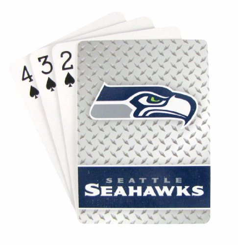 Seattle Seahawks Diamond Plate Playing Cards