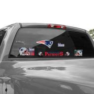 "New England Patriots 11""x17"" Jumbo Ultra Decal Set"