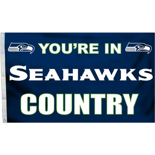 Seattle Seahawks In-Country Flag