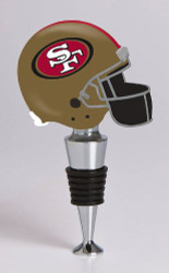 NFL San Francisco 49ers Helmet Bottle Stopper