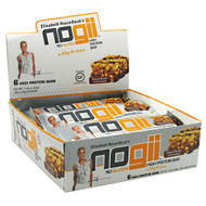 NoGii NoGii High Protein Bar, Peanut Butter & Chocolate, 6-1.9 oz (54g) Bars