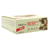 Think Products Think Thin Lean, Chunky Chocolate Peanut, 10 - 40g bars