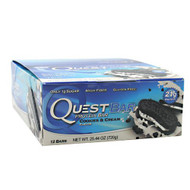 Quest Nutrition Quest Bar, Cookies & Cream, 12 Bars