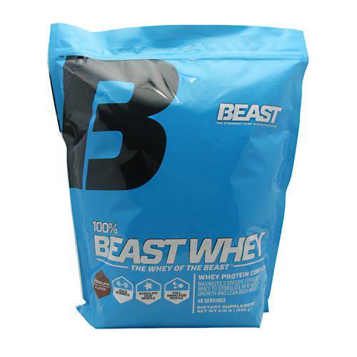 Beast Sports Nutrition 100% Beast Whey, Chocolate, 4.16 lbs (1886g)