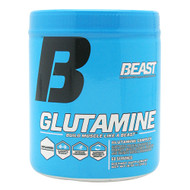 Beast Sports Nutrition Glutamine, Unflavored, 60 Servings
