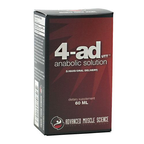 Advanced Muscle Science 4-AD, 30 mL