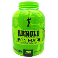 Arnold By Musclepharm Iron Mass, Banana Cream, 5 LBS