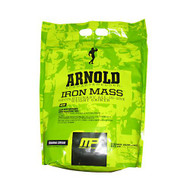 Arnold By Musclepharm Iron Mass, Banana Cream, 8 LBS