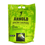 Arnold By Musclepharm Iron Mass, Vanilla Malt, 8 LBS