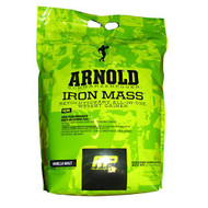 Arnold By Musclepharm Iron Mass, Vanilla Malt, 10 LBS