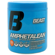 Beast Sports Nutrition Amphetalean, Orange Cooler, 45 Servings
