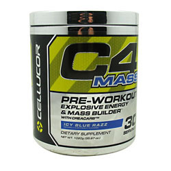 Cellucor C4 Mass Blue Razz 30 Servings