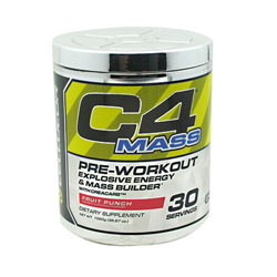 Cellucor C4 Mass Fruit Punch 30 Servings