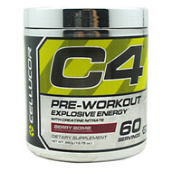Cellucor Chrome Series C4 Berry Bomb 60 Servings