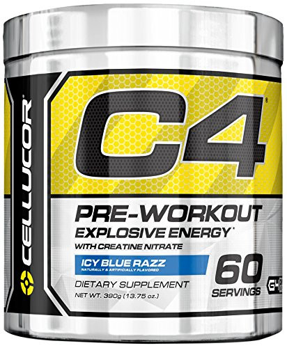 Cellucor Chrome Series C4 Icy Blue Razz 60 Servings