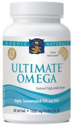 Nordic Naturals Ultimate Omega 1,000 mg Softgels, Lemon, 60 ct