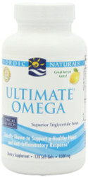Nordic Natural Ultimate Omega, 1000 mg, 120 Count
