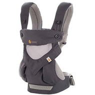 ERGObaby Four Position 360 Cool Air Carrier, Carbon Grey