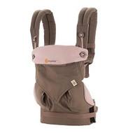 ERGObaby Four Position 360 Baby Carrier, Taupe and Lilac