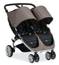 Britax 2015 B-Agile Double Stroller, Sandstone