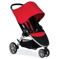 Britax 2016 B-Agile Stroller, Red