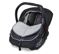 Britax B-Warm Insulated Infant Car Seat Cover, Polar Mist