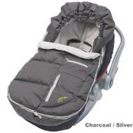 JJ Cole Arctic Bundle Me - Infant - Charcoal / Silver
