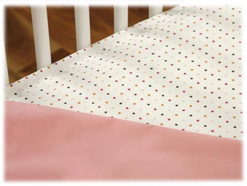 JJ Cole Fitted Crib Sheet Set - 2pk - Pink