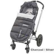 JJ Cole Arctic Bundle Me - Toddler - Charcoal / Silver