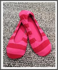 RIW Indoor Tee Shoes Red Stripe